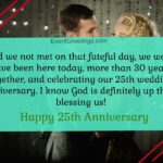 25th Anniversary Messages To A Couple