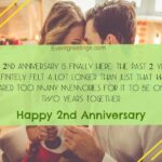 2nd Wedding Anniversary Wishes For Husband Pinterest