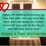 4 Years Wedding Anniversary Quotes Pinterest