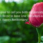 Anniversary Wishes To Parents From Daughter Pinterest