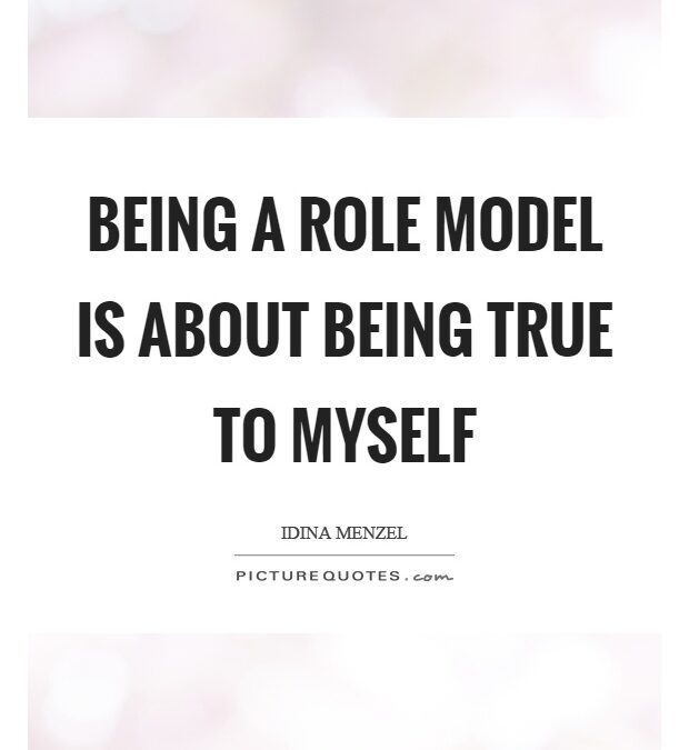 Being A Role Model Quotes Pinterest