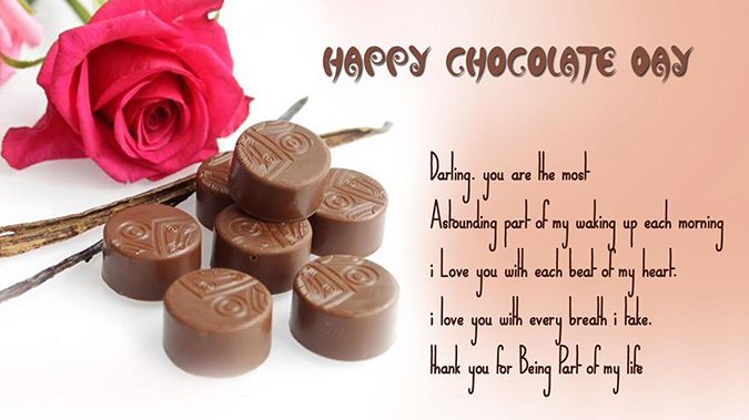 Chocolate Day Quotes For Her Pinterest