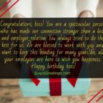 Company Anniversary Wishes To Boss Pinterest