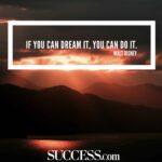 Dream Success Quotes Pinterest