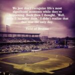 Field Of Dreams Quotes Pinterest