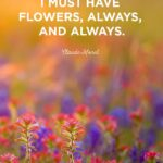 Flower Life Quotes