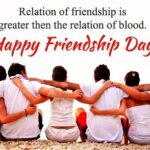 Friendship Day Lines