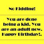 Funny 18th Birthday Wishes Tumblr