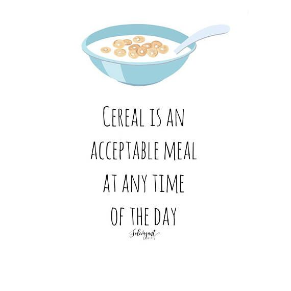 Funny Cereal Quotes Pinterest