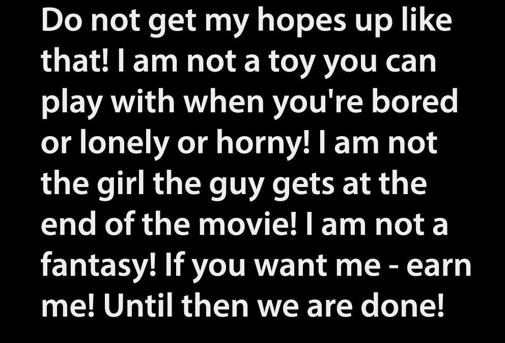 Girl Is Not A Toy Quotes Facebook