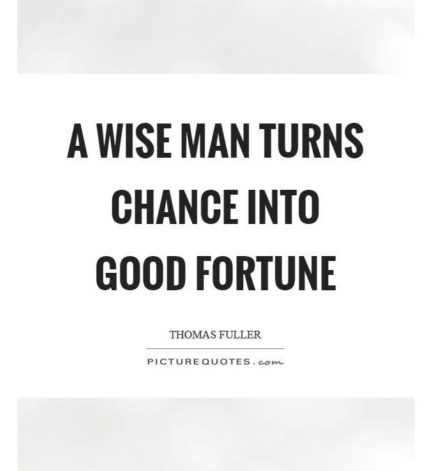 Good Fortune Quotes Facebook