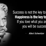 Happiness Is The Key To Success Quote Tumblr