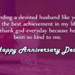 Happy Anniversary To Hubby