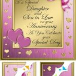 Happy Anniversary To My Daughter And Son In Law Poems