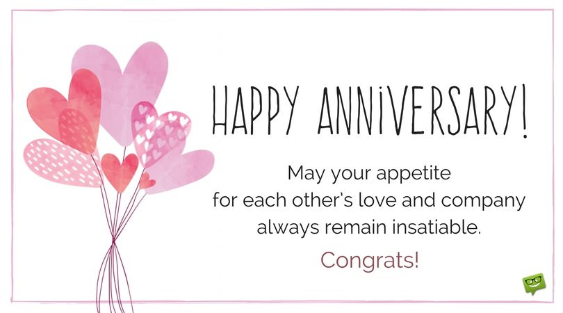Happy Anniversary Wishes For Couple Facebook