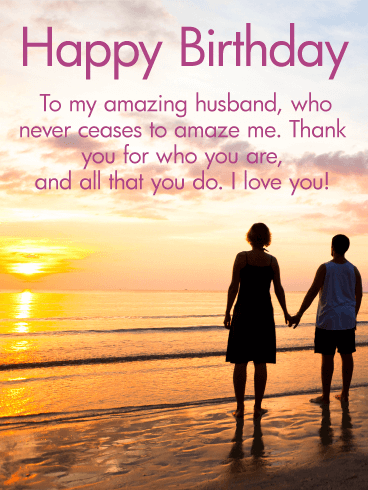 Happy Birthday Message For Husband Twitter