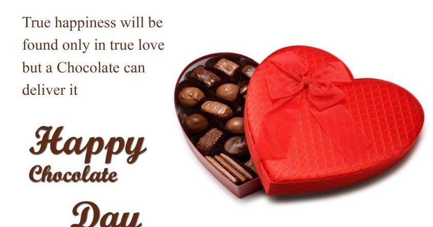 Happy Chocolate Day Wishes For Friends Tumblr