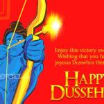 Happy Dussehra Greeting Pinterest