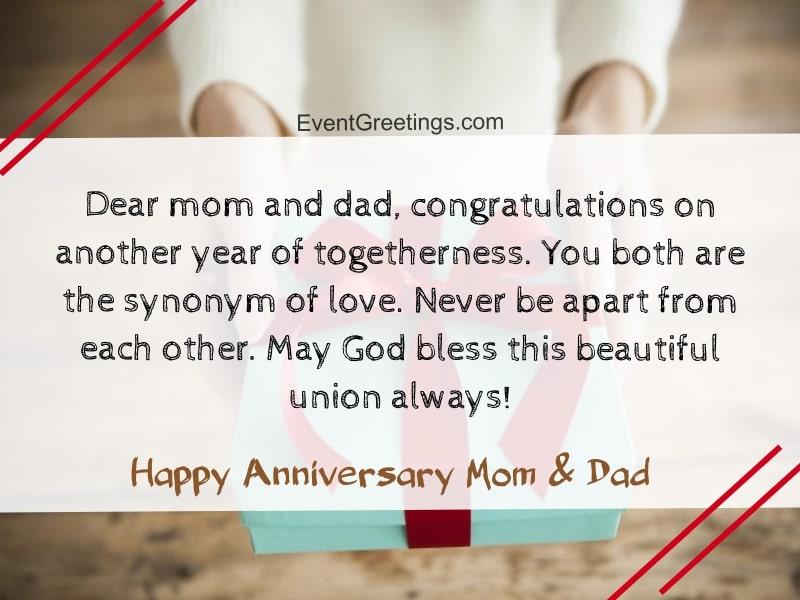 Happy Marriage Anniversary Mom And Dad Facebook