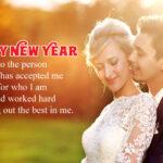 Happy New Year Romantic Quotes Pinterest