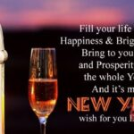 Happy New Year Wishes To All My Family And Friends Pinterest