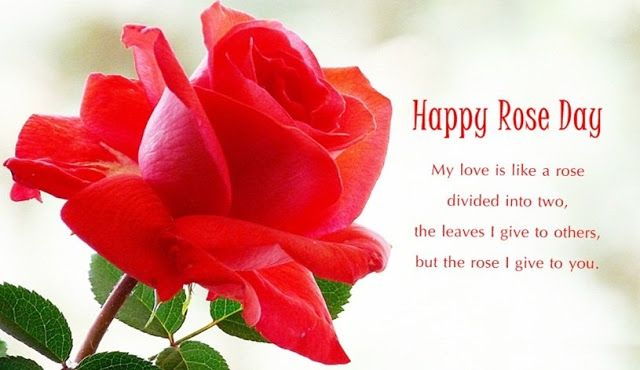 Happy Rose Day Msg For Gf Twitter