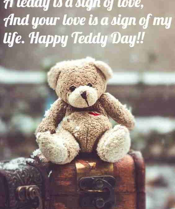 Happy Teddy Day Quotes For Boyfriend Facebook