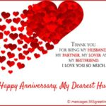 Happy Wedding Anniversary Wishes For Husband Pinterest