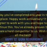 Happy Work Anniversary Wishes Facebook