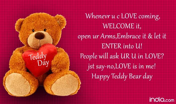 I Love Teddy Bear Quotes Facebook