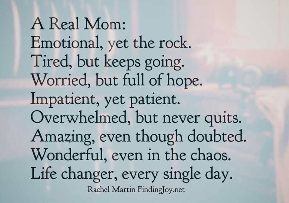 Inspirational Quotes For Struggling Moms Facebook