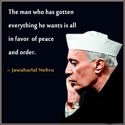 Jawaharlal Nehru Quotes On Education Facebook