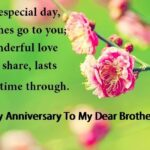 Marriage Anniversary Quotes For Brother Twitter