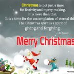 Merry Christmas Positive Quotes Facebook