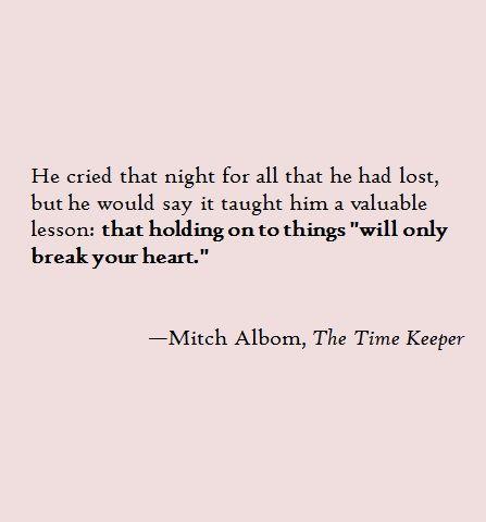 Mitch Albom Book Quotes Tumblr