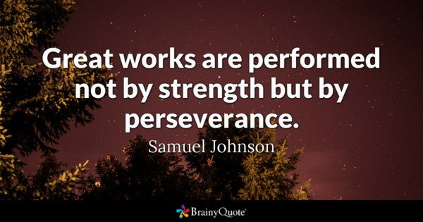 Perseverance Is The Key To Success Quote Pinterest