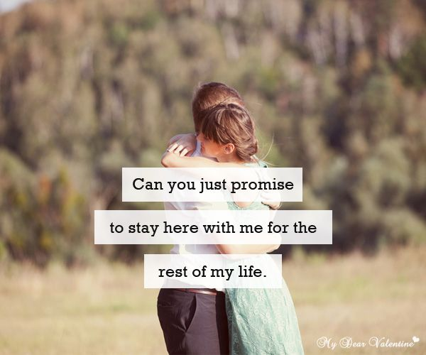 Promise Day Heart Touching Quotes Tumblr