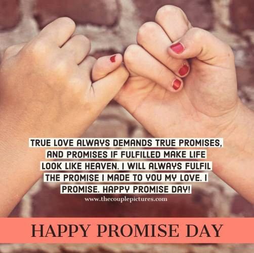 Promise Day Quotes For My Girlfriend Tumblr