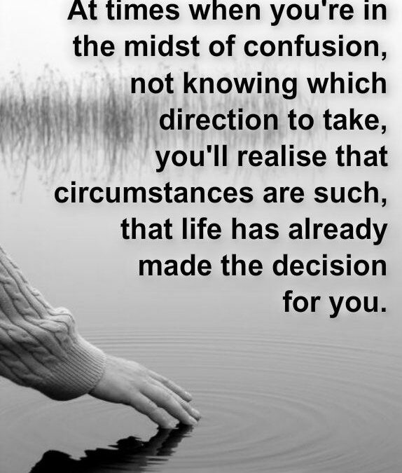 Quotes About Confusion In Decision Pinterest