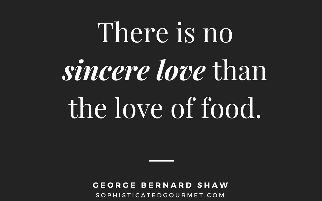 Quotes About Food And Love Pinterest