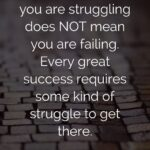 Quotes For Struggle And Success Facebook