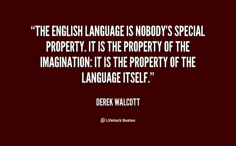 Quotes On English Language By Famous Authors Pinterest