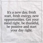 Quotes To Start The Day Positive Pinterest