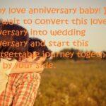 Romantic Anniversary Wishes For Boyfriend