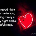 Romantic Good Night Text Tumblr