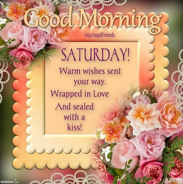Saturday Good Morning Wishes Images Facebook