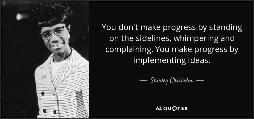 Shirley Chisholm Quotes Facebook