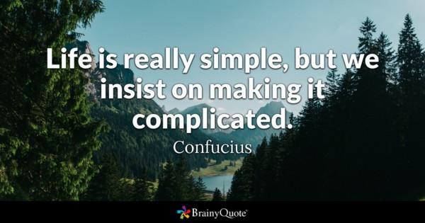 Simple Life Quotes Facebook