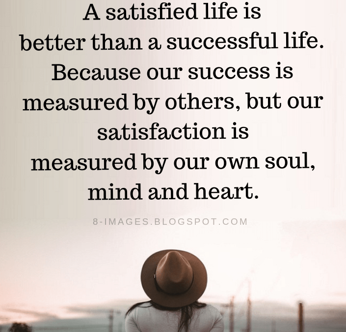 Success And Satisfaction Quotes Twitter