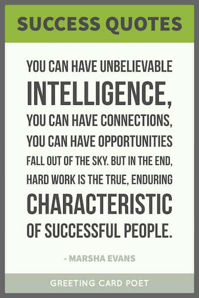 Success Card Quotes Pinterest